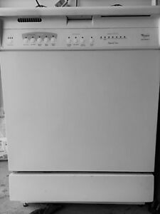 Whirlpool Dishwasher in good condition for $80 (negotiable)