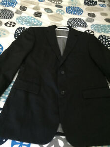 Hugo Boss stretch dress jacket sports coat black size 40R