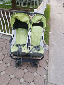 Double baby carriage