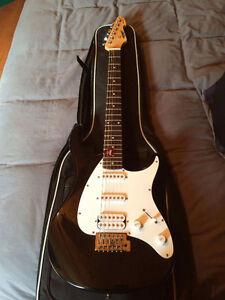 Kit peavy: guitare électrique + amplificateur RAGE 158 transtube
