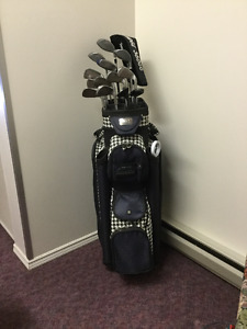 Ladies Left Hand Golf Clubs with Golf Bag