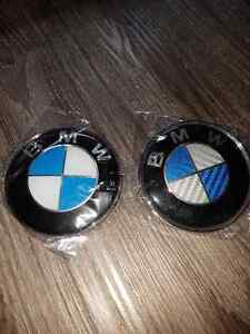 Bmw hood and trunk badges