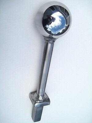Hardy 4 Chrome Steel Ball Anvil Tool Blacksmith Tinsmith Sheetmetal Cannon Ball