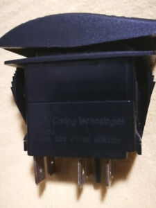 Boating or R.V 12 V D/C switches 10 PC's.