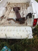 Dodge dually box, gooseneck hitch, rear hitch
