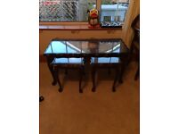 Nest of 3 tables £50