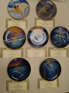 THE BALLET OF THE SEAS CERTIFIED COLLECTOR PLATE COLLECTION