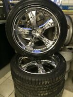 KAIZER Rims with 245 40 19 Michelin Tires 5.115