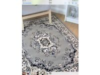 WILTON LARGE STUNNING GREY THIS IS A QUALITY RUG REDUCED
