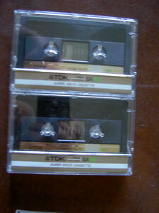 Audio Cassettes New Factory Sealed MAXELL / BASF / TDK / 90/100m West Island Greater Montréal image 10