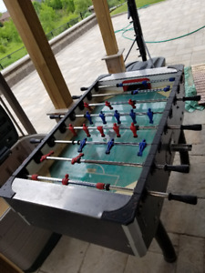 coin operated football table arcade