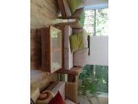 Conservatory furniture - 5 piece set - high quality, great condition