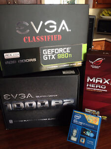 Extreme Gaming PC i7 + SSD + HDD + NVIDIA GeForce GTX + 1000W