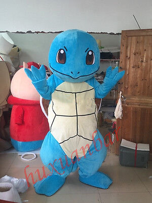 Hot  Squirtle anime Mascot Costume Cartoon Clothing Halloween Fancy Dress-Gift (Hot Celebrities Halloween Costumes)