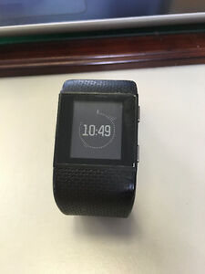 Fitbit Surge Large Black with Box Kitchener / Waterloo Kitchener Area image 1