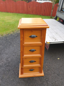 35. Solid pine 4 drawer chest