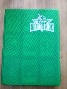DRAGON HIDE BINDER WITH OVER 350 YUGIOH CARDS Commons and rares