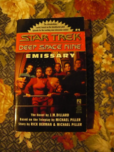 STAR TREK  DEEP SPACE NINE EMISSARY # 1