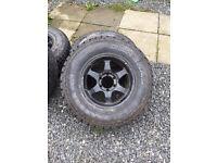 L200 alloy wheels