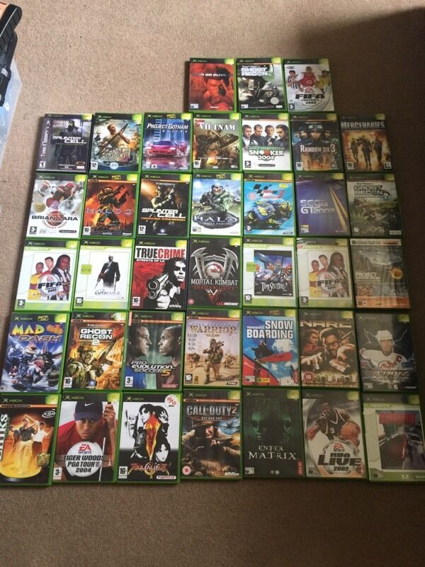X Box Games For The Orginal : Original xbox games in bath somerset gumtree