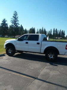 Lifted 2004 ford f150 fx4