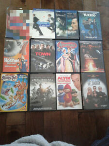 31 Dvds - Action, Adventure, Kids, and more... $0.8065 per