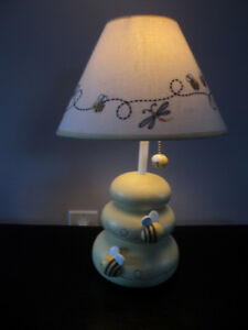 Baby Toddler Children's Bumble Bee Lamp