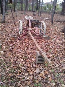 Old Farm Sickle Mower