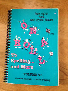 """Homeschool - """"On A Roll To Spelling & More"""""""