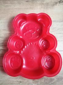 Teddy bear silicone baking