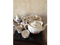 Royal Crown Derby Posies China with unmarked add ons