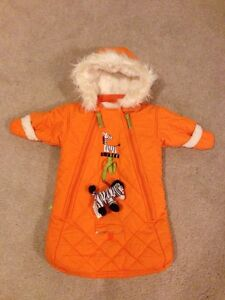 0-6 month Orange Bunting Bag