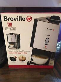 Brevilleb Instant Cappuccino machine