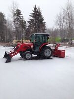 Snow removal- Moncton airport area