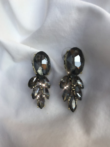 Crystal teardrop earrings *Brand New*