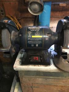 Mastercraft 8 inch bench grinder