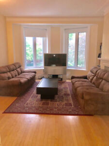 5 bedrooms 3 bathrooms fully furnished Mcgill, Guy, Concordia