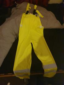 Portwest waterproof overalls
