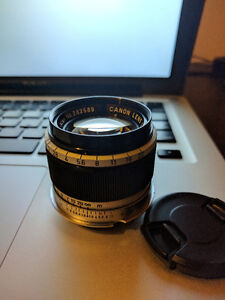 Canon LTM 50mm F1.8 includes M Mount Adapter