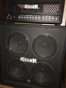Krank Rev1 120 watt Tube Head+cabinet