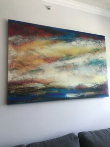 "Oversized Canvas wall art 60""X40"""