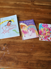3 book bundle. My little pony and more