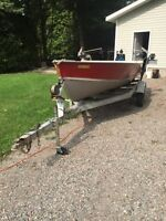 Lund 14 foot boat