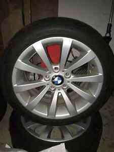 BMW Originals 15 inch Rims and Winter Tire