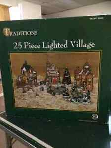 For Sale Christmas Village and Accessiries!