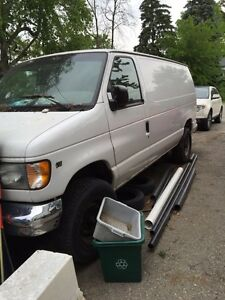 2000 work truck/van AS IS