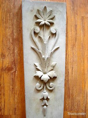 Fassadenstuck, wunderschöne große Schmuckplatte aus Beton für Aussenfassade