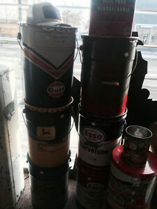 Oil cans, Gas pump Edmonton Edmonton Area image 2