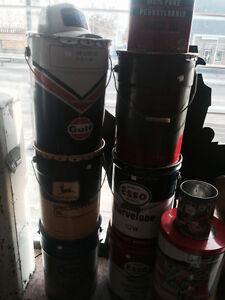 Oil cans, Gas pump Edmonton Edmonton Area image 2