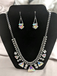 Katy Perry prism collection necklace and earrings set